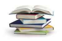 Stapel an Büchern