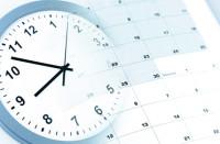 Uhr mit Kalendar